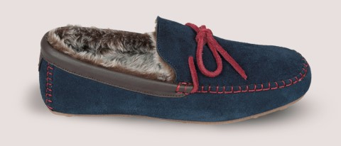 benson, lazy dogz, lime shoe co, berwick upon tweed, red, navy, gents, slipper