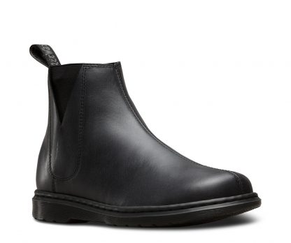 Dr Martens Noelle ankle boot- black boot- pull on boot- chelsea boot- Limeshoe Co- Berwick upon Tweed