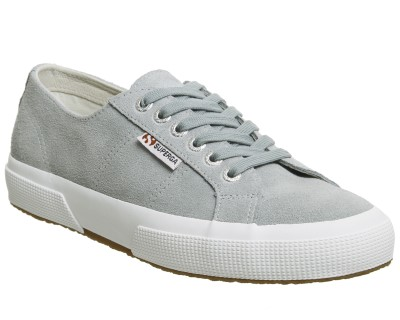 superga-grey suede-trainer-lime shoe co-berwick upon tweed
