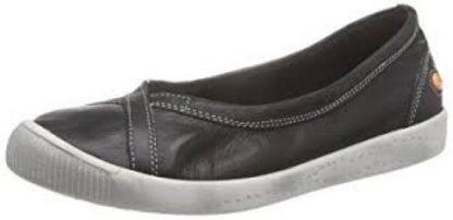 Softinos Ilma Black Pumps Lime Shoe Co Berwick Upon Tweed