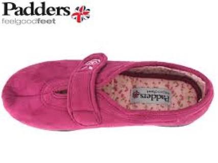 06850889358e Padders Camilla Rasp Cerise Slipper - Lime Shoe Co