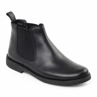 Padders Jerry Black Boot 179/10 Lime Shoe Co Berwick Upon Tweed
