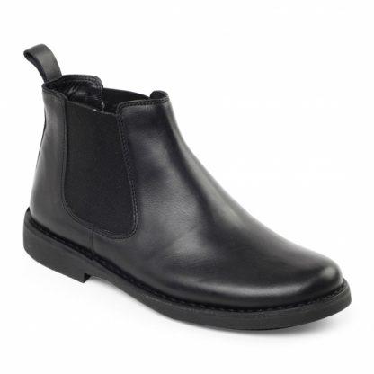 Padders Jerry Black Boot 179/10 Lime Shoe Co Berwick Upon Tweed