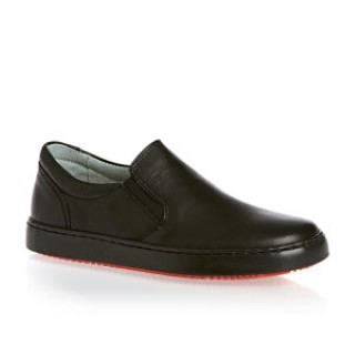 petasil-pax-black-leather-school-shoe-lime shoe co-berwick upon tweed