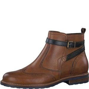 1-250004-21-tamaris-tan-ankle-leather=brogue-boot-lime shoe co-berwick upo tweed
