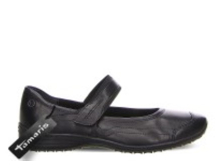 tamaris black pump -velcro-fastening-tamaris-slip-on-berwick-upon-tweed-limeshoe-co