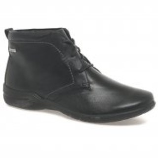 Berwick upon tweed=lime shoe co-josef seibel-ankle boot-lace up-black