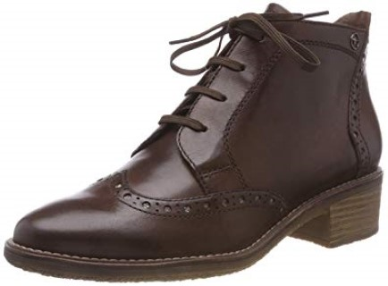 berwick upon tweed-limeshoeco-tamaris-brown lace up-boot