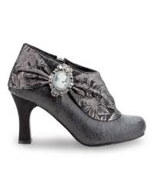 Joe Browns Mystery shoe boot silver cameo lime shoe co berwick upon tweed