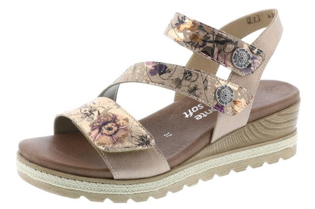remonte-D6358-31-ladies-wedge-sandal-lime shoe co-berwick upon tweed