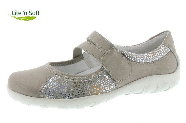 remonte-r3510-91-metallic-light weight-velcrose fastening-shoe-lime shoe co-berwick upon tweed