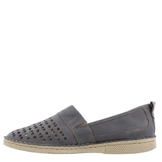remonte-sofie27-jeans-slip on shoe-summer-ladies-leather-blue-lime shoe co-berwick upon tweed