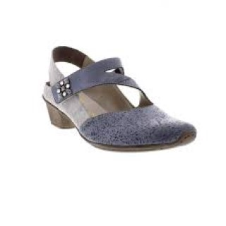 rieker-49770-14-ladies-leather-blue-combination-shoe-lime shoe co-berwick upon tweed