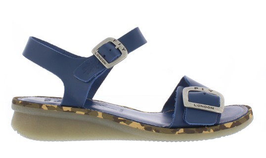 Berwick upon Tweed-Lime shoe co-Fly London-Comb-blue-Sandal-summer