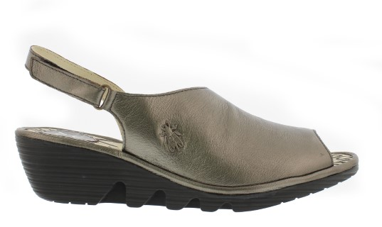 Berwick upon Tweed-Lime shoe co-Fly London-Bronze-Palp-Wedge-Sandal-summer