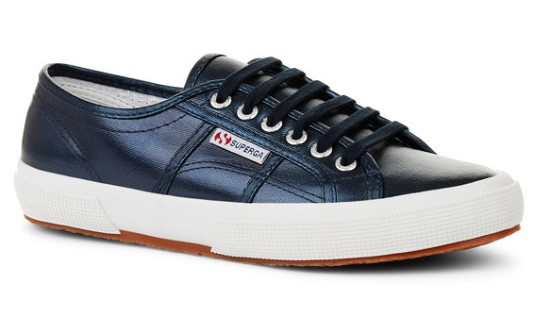 Berwick upon Tweed-Limeshoeco-Superga-Metallic-Blue