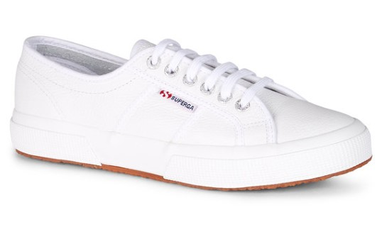 Berwick upon Tweed-Limeshoeco-Superga-white-summer-leather