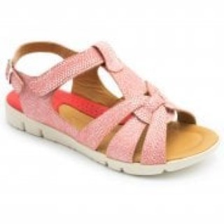 padders-petal-pink combi-ladies-wide fitting-leather-sandal