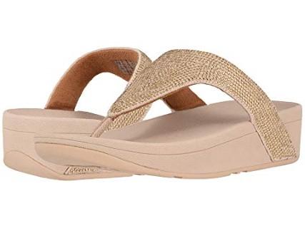 fitflop-lottie-shimmer-crystal-artisan-gold-sandal-lime shoe co-berwick upon tweed