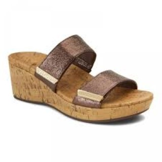 vionic-atlantic-pepper-bronze-wedge-sandal-summer-lime shoe co-berwick upon tweed
