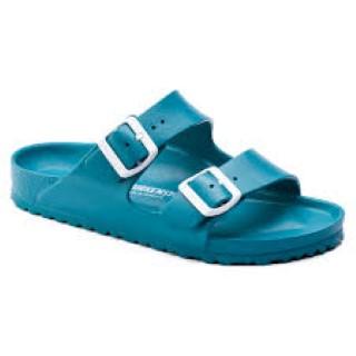 birenstock-arizona-turquoise-eva-summer-sandal-lime shoe co-