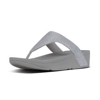 fitflop-lottie-glitzy-toe-post-sandals-in-silver-lime shoe co-berwick upon tweed