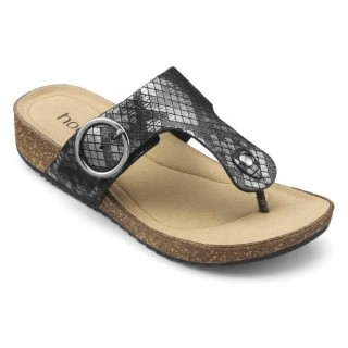 hotter-resort-carbon-metallic-std-fit-leather-flat-slip-on-sandal-lime shoe co-berwick upon tweed