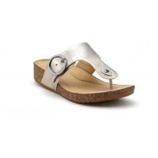 hotter-resort-gold-texture-std-fit-leather-flat-slip-on-sandal-lime shoe co-berwick upon tweed