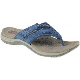 womens-juliet-cobalt-blue-toe-post-mule-sandals-limeshoe co-berwick upon tweed