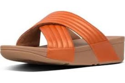fitflop-lulu padded-slider-amber ash-limeshoe co-berwick upon tweed-ladies-leather