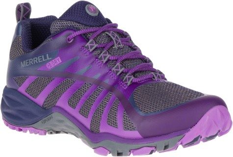 Berwick upon Tweed-Lime Shoe Co-Merrell-Trainer-Laces-Ladies-Purple-winter