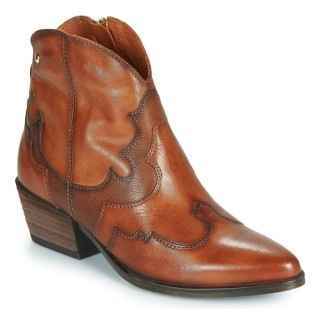 Berwick upon Tweed-Lime Shoe Co-Pikolinos-Tan-Cowboy Style-Side zip-leather-autumn/winter