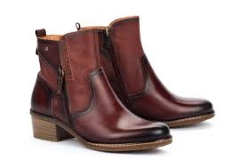 Berwick upon Tweed-Lime Shoe Co-Pikolinos-Ankle Boot-Brown-inner zip-winter-leather