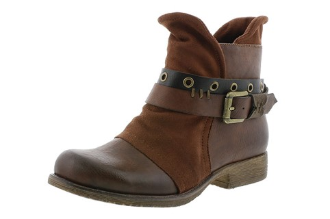 Berwick upon Tweed-Lime Shoe Co-Rieker-Ankle Boot-Brown-Buckle-winter