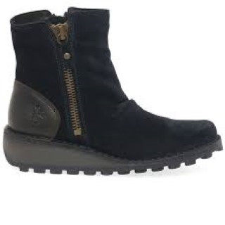 Lime Shoe Co-Berwick upon Tweed-Fly London-Winter19-Wedge-Suede-Ankle Boot