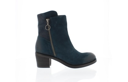Berwick upon Tweed-Lime Shoe Co-Petrol-Ladies Boot- Ankle-side zip-winter