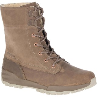Line Shoe Co-Berwick upon Tweed-Merrell-Winter-Boot-Leather-Suede-Lace Up-Flat-Fleece Lined