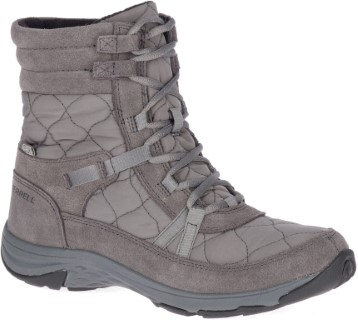 Berwick upon Tweed-Lime Shoe Co-Merrell-Snowboot-Waterproof-laces-mid length-winter