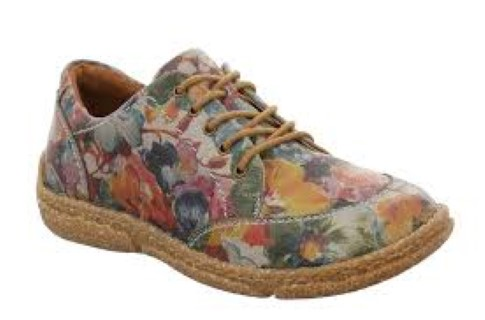 Berwick upon Tweed-Lime Shoe Co-Josef Seibel-Shoe-Laces-floral-pattern-pretty-winter