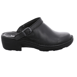 Berwick upon Tweed-Lime Shoe Co-Ladies-Josef Seibel-clogs-Black-Slip on-buckle-non slip