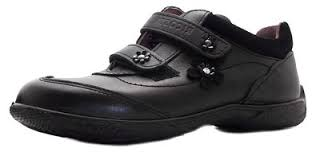 Berwick upon Tweed-Lime Shoe Co-Ricosta-Black-School Shoe-girls