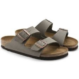 Lime Shoe Co-Berwick upon Tweed-Birkenstock-Flat-Buckle-Slip On-Arizona-Stone-Summer