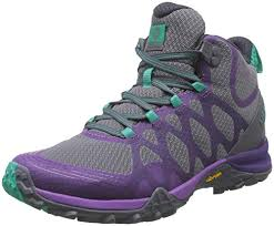 Berwick upon Tweed-Lime Shoe Co-Merrell-Goretex-purple-green-grey-walking boot-winter