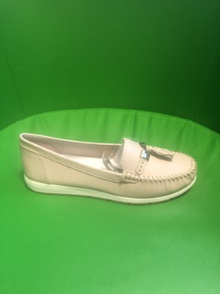 Lime Shoe Co-Berwick upon Tweed-Marco Tozzi-Spring Summer 20-Flat-Leather-Tassel-Dusky Pink-Comfort-Traditional