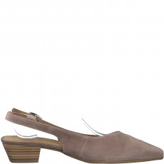 Berwick upon Tweed-Lime Shoe Co-Tamaris-Taupe-Slingback-Buckle-Summer