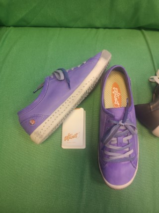 Berwick upon Tweed-Lime Shoe Co-Softinos-Violet-Isla-lace up-trainer-summer-spring-leather