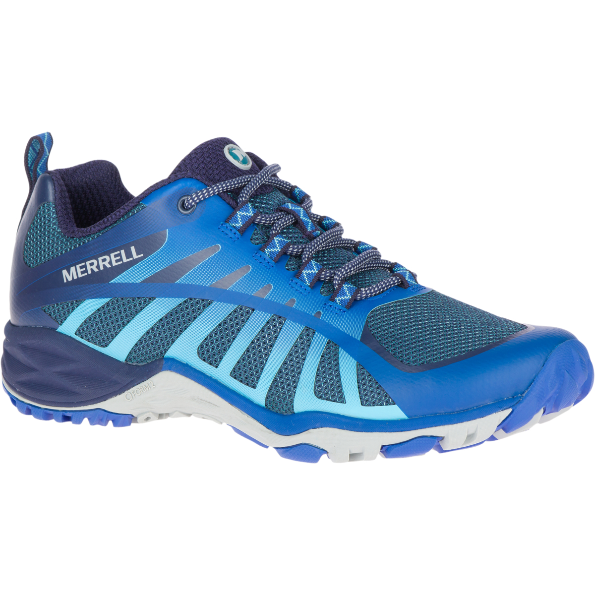 Berwick upon Tweed-Lime Shoe Co-Merrell- Siren Edge Q2-Colbalt blue-trainer-laces-summer