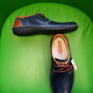 Berwick upon Tweed-Lime Shoe Co-Pikolinos-Blue-Gents-Lace up-Shoe-leather-spring-summer