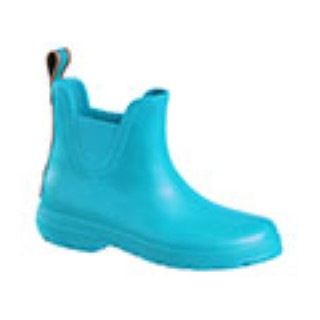Lime Shoe Co-Berwick upon Tweed-Totes-Cirrus-Rainboots-Turquoise-Splash-Chelsea-Waterproof-Flexible-Comfort-Flat-Practical