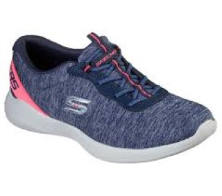 Lime Shoe Co-Berwick upon Tweed-Skechers-Trainer-Ladies-Summer-Spring-2020-Memory Foam-Comfort-Flat-Slip On